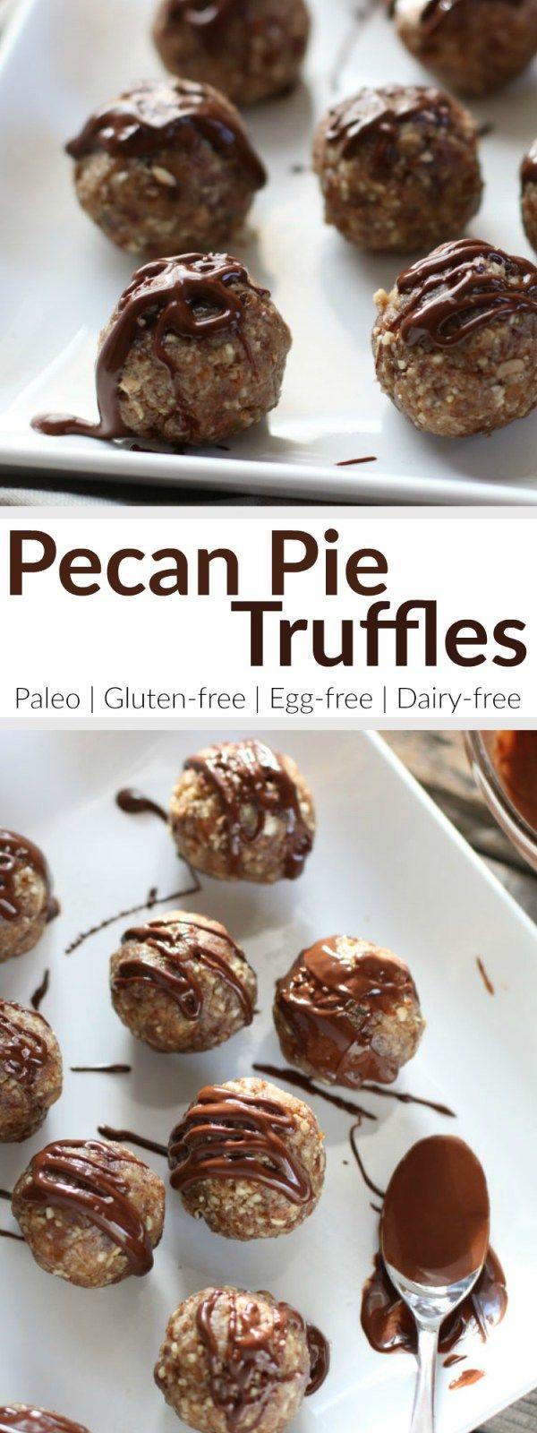 ... irresistible No-Bake Pecan Pie Truffles | Paleo | Grain-free | Gluten