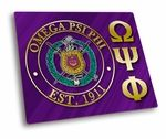 These Omega Psi Phi hard mousepads are a beautiful way to liven up your desk!