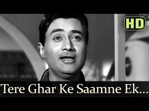 Tere Ghar Ke Samne - Title Song - Dev Anand - Nutan - Old Hindi Songs - S.D. Burman - Rafi & Lata - YouTube