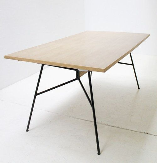 french dining table by Eugene Gaillard