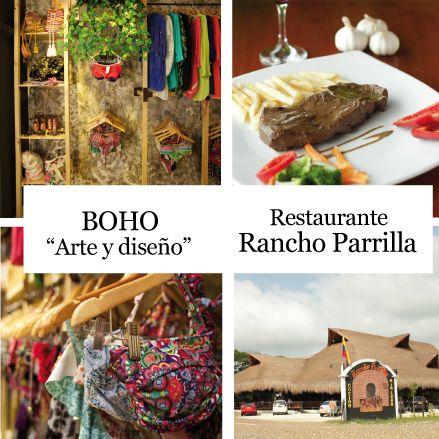 """BOHO """"arte y diseño"""" y Restaurante Rancho Parrilla en Cartagena/Colombia  http://www.inkomoda.com/hernan-zajar-historia-tradicion-y-colorido/"""