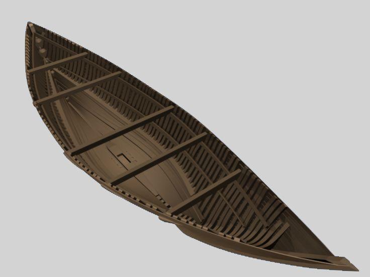 Au terme de cette restitution, le navire apparaît long de presque 26 m, large de 7 m. Dans le contexte du XVe siècle, ces dimensions sont celles d'un grand navire. Mais ce qui surprend le plus est le caractère extrêmement fin des formes du bâtiment. Elles le distinguent des navires médiévaux antérieurs et est très probablement à mettre en relation avec le contexte européen de l'époque. Dès la fin du 14e siècle et jusqu'au 16e siècle, l'insécurité sur mer augmente.