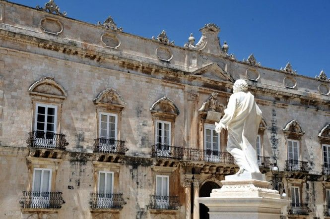 Siracusa, Ortigia, Piazza Duomo - Syracuse