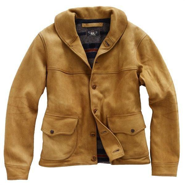 [ RRL/Walker Leather Jacket ] アメカジ ファッション|ヴィンテージ ファッション|ジェイクルー