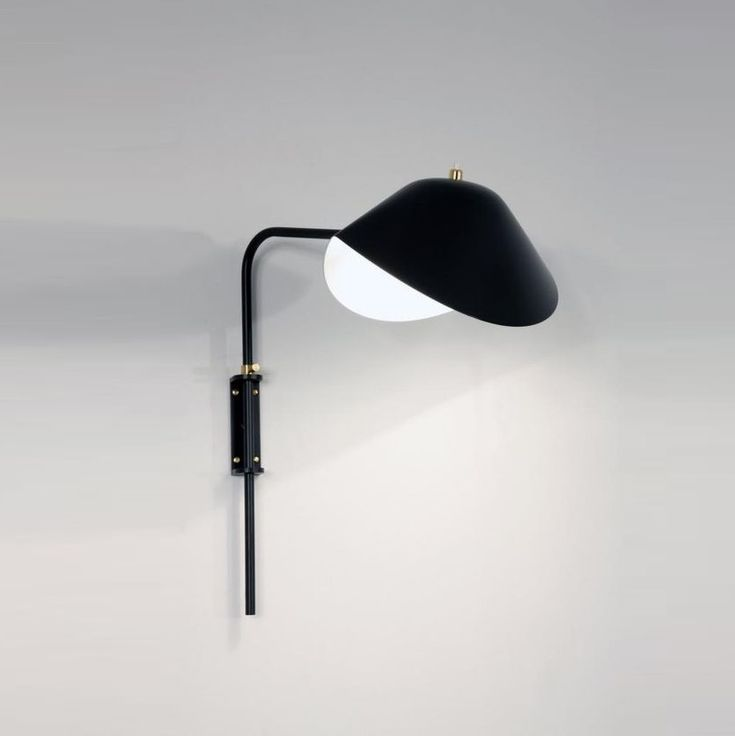 famous lighting designer. The Timeless Black Wall Lamp Antony Mouille Is An Iconic Design Created In 1953 By One Famous Lighting Designer T
