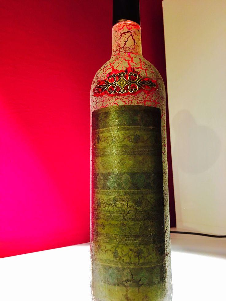 #altered dark bottle #wine