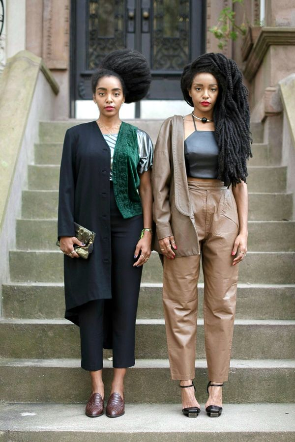 Natural Hair Cipriana Quann TK Wonder Interview-- took them 7 years to get their hair to grow that long. WOW!