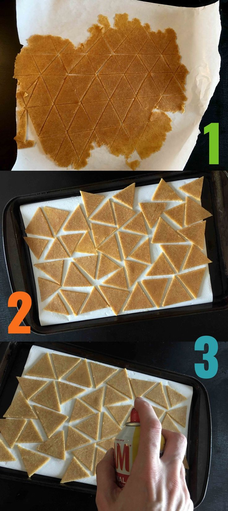 Low Carb Tortilla Chip Recipe Step by Step