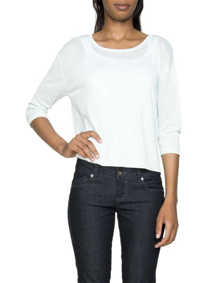 Relaxed Cropped Pullover