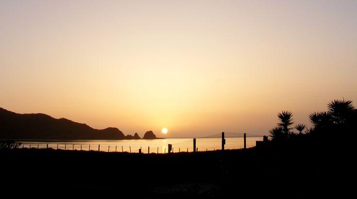 Sunrise - Bland Bay Northland New Zealand
