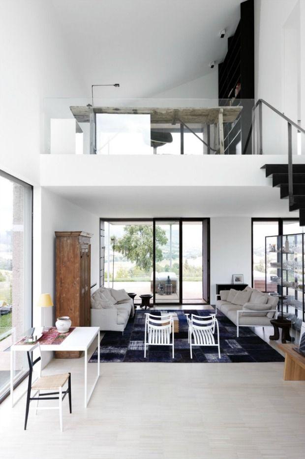 25 beste idee n over hoog plafond slaapkamer op pinterest slaapkamers moderne slaapkamers en - Hoog plafond ...