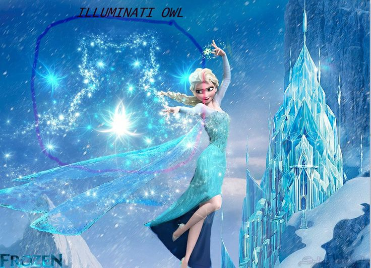 "I love ""Frozen""- but in this movie still - notice the Illuminati owl?? Wondering what else will come out w/ this film..."
