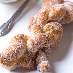 Asian Doughnuts. Great fun to make with the kids.                                      http://www.cookingbread.com/classes/class_asian_doughnuts.html