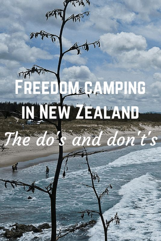 Freedom camping is very popular in New Zealand, but there are many rules that people aren't aware of. Find out the do's and don't's in this post!