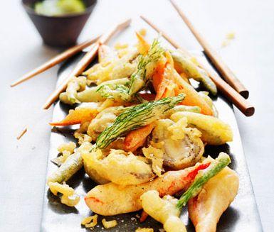Med detta recept rör du snabbt ihop en frityrsmet för till exempel kyckling eller fiskbitar. Prova att fritera en bit vitt bröd för att se om smeten är redo för större bitar!