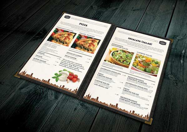Ideas And Examples To Make To Do A Restaurant Menu Design And .
