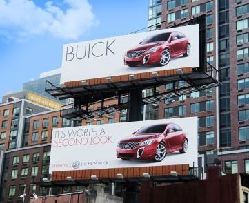 #SilverOBIE #OBIEAwards2015 #Buick #OOH