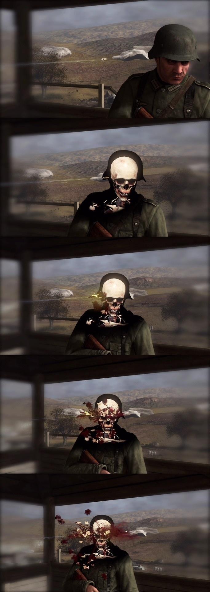 The art of a kill, Sniper Elite V2