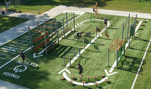Elevate Fitness Course Outdoor Fitness Outdoor Fitness Equipment Outdoor Gym Outdoor Workouts