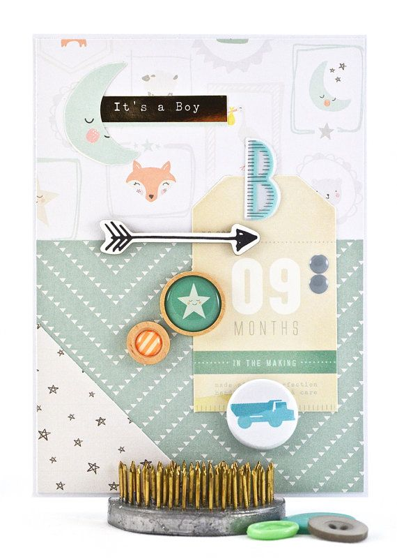 Are you anxiously waiting to welcome a new nephew or grandson into the world? Have you become an aunt or grandparent for the first time? Are you expecting a baby boy and want to share the news with friends or family? This super sweet newborn baby boy card is perfect for conveying your baby boy wishes to family members and friends. To purchase this card, please click on the image.