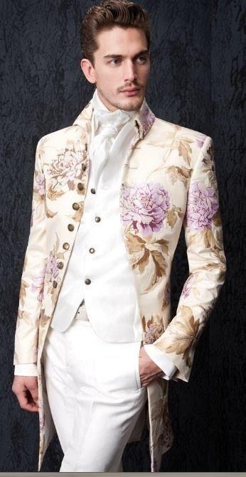 baroque inspired fashion men - photo #32
