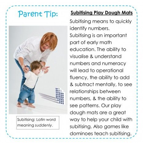 Subitising-what is it and why does your child need to learn it.