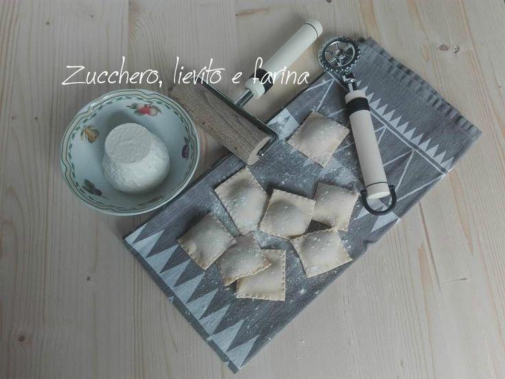 Ravioli+di+magro+con+ricotta+e+spinaci