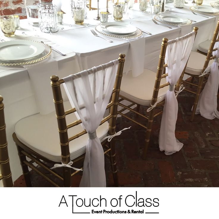 A Touch Of Class Table Decorations We Specialize In