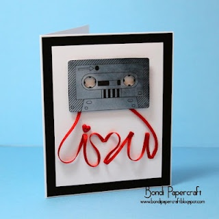 "It's a cassette tape image, with ""tape"" that spells out I Love You - love it!"