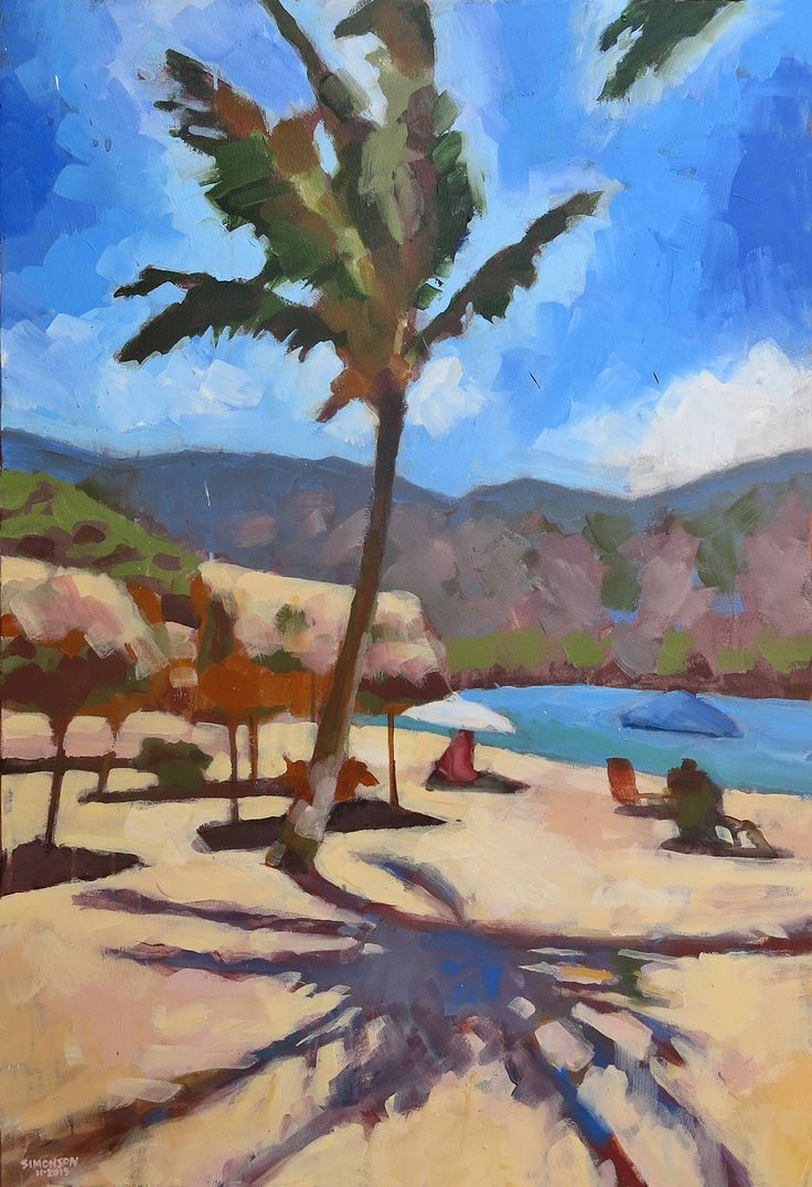 17 Best Images About Paintings Tropical Landscapes On