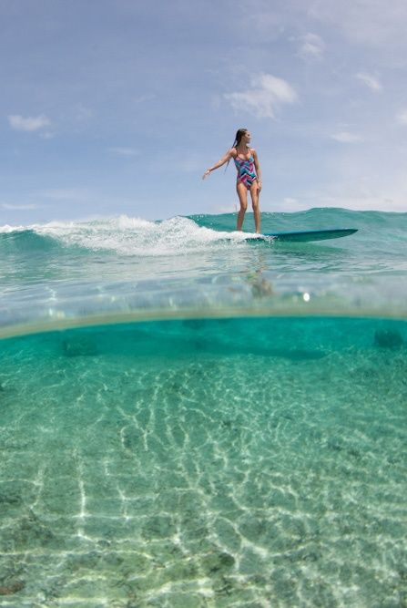 Surfer Girl Bali Wallpaper Pin Di Sam Johnson Su Adventure Surfing Surf Girls E