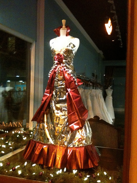 Fantastic Christmas Wedding Gowns in Lea-Ann Belter Bridal's Toronto Flagship Storefront by Lea Ann Belter Bridal, via Flickr