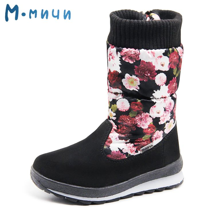 ==> [Free Shipping] Buy Best MMNUN Russian Famous Brand High Quality Children Winter Shoes Winter Boots for Girls Shoes for Big Girls Kids Boots Size 26-36 Online with LOWEST Price | 32764836207