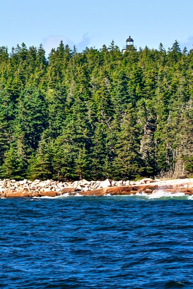 Maine Lighthouses and Beyond: Baker Island Lighthouse. To enjoy my site on lighthouses, click on the above photo.
