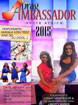 Ms Drag Ambassador 2015 #LGBTUpcomingEvents