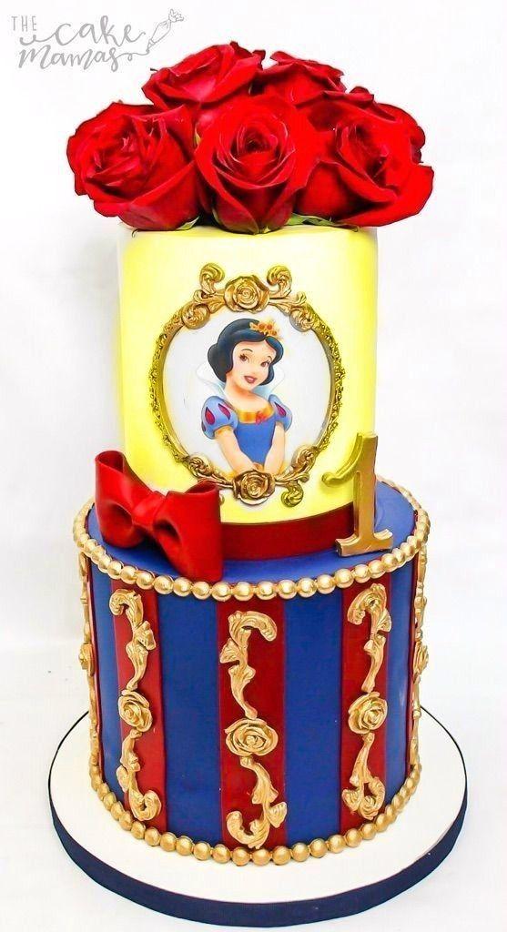 Snow white cake torta blancanieves