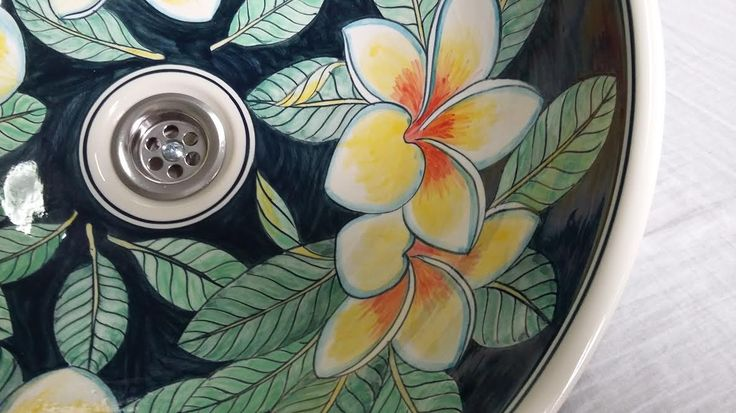 http://ebay.eu/2lbpNWi FREE SHIPPING, BUY ONLINE Beautiful hand painted porcelain wash basins.  Hello, thanks for liking my posts.