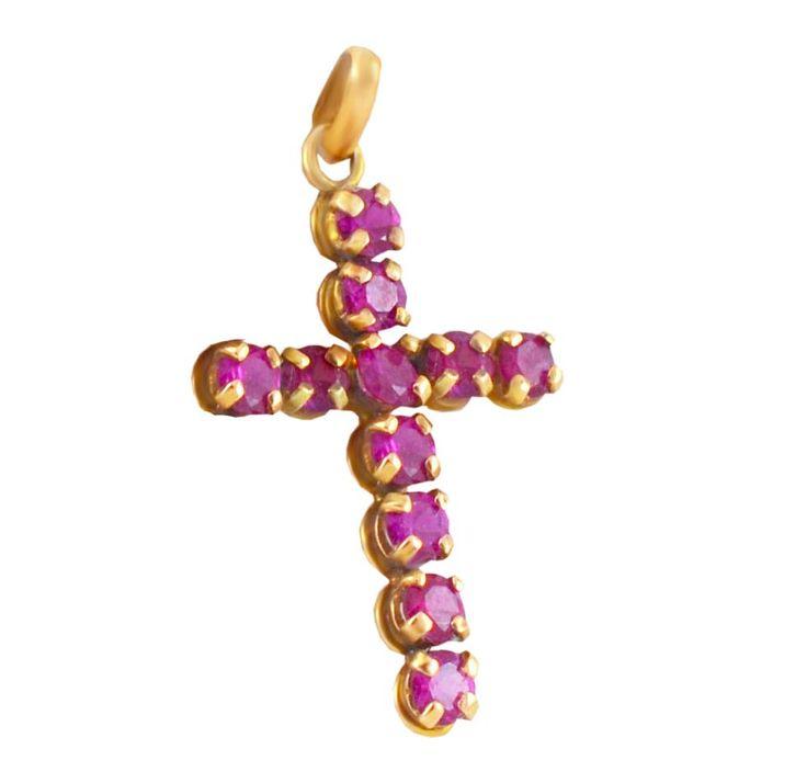 ΣΤ24Τ -Χρυσός σταυρός