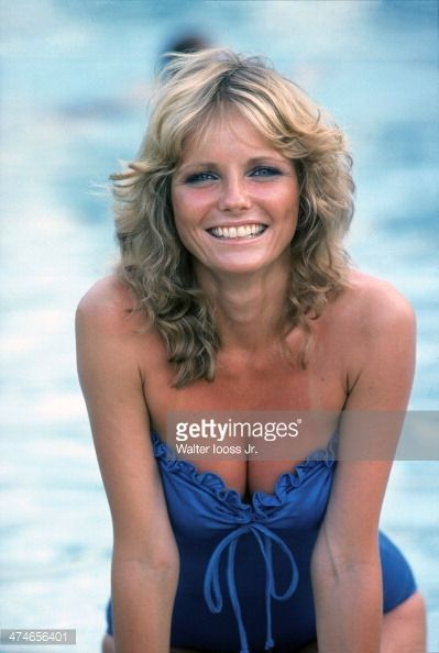 News Photo : Model Cheryl Tiegs poses for the 1978 Sports...
