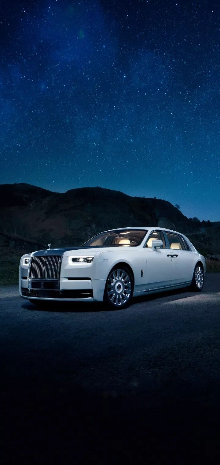 The Car Which Is Brighter Than The Sky 1 5 No Two Phantoms Are The Same This Is A Motor Car As Unique As The Worl Rolls Royce Rolls Royce Wallpaper Royce