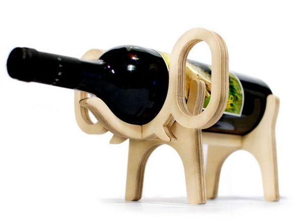 Animal's bone, Wine Bottle Holders #design #homedecor