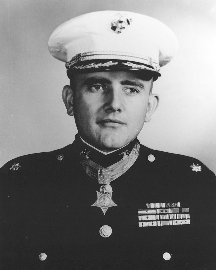 Col Carl Leonard Sitter (1922-2000) USMC. Awarded the Medal of Honor, Silver Star Medal, Legion of Merit, Purple Heart with 2 Gold Stars.