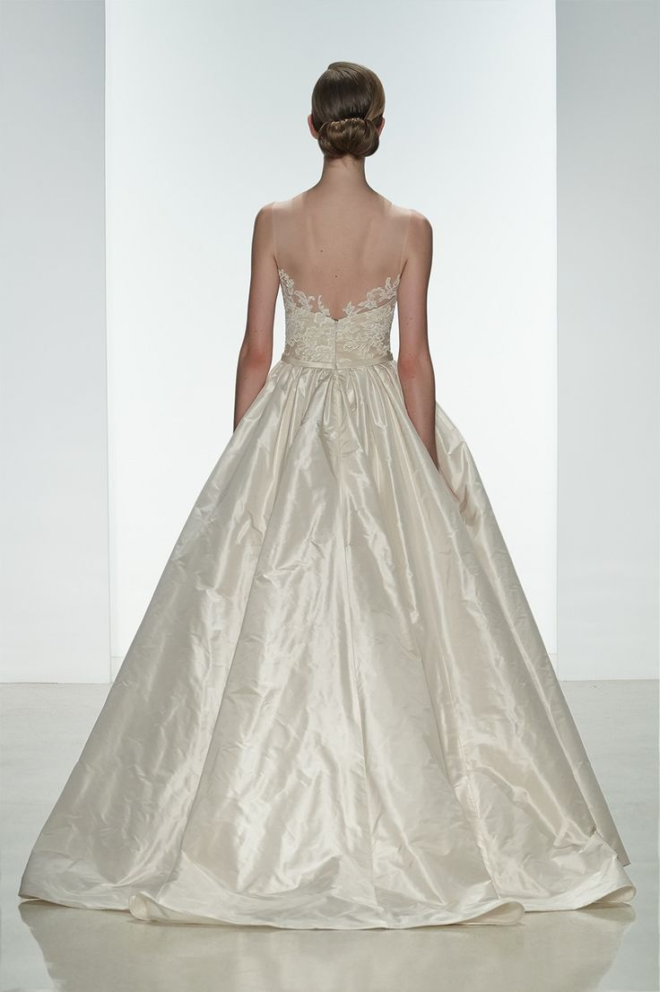 12 best spring 2015 wedding dresses images on pinterest wedding amsale spring 2015 ryan gown back silk taffeta natural waist ballgown with corded lace bodice i do bridal couture baton rouge la ombrellifo Image collections