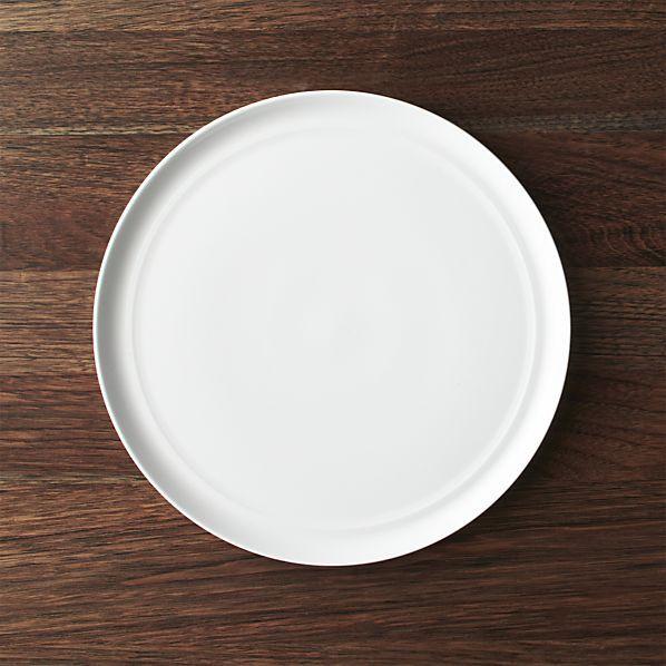 Hue White Dinner Plate