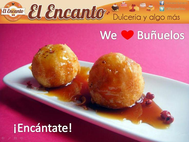 Esta Semana Santa disfruta de nuestros deliciosos Buñuelos por encargo. ¡Y encántate!  https://www.facebook.com/dulce.elncanto https://twitter.com/ElEncantoDulce