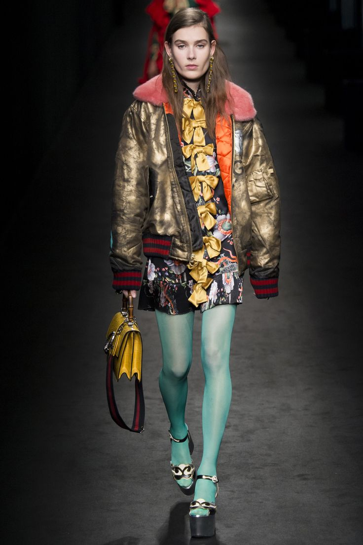 No one blinked at the marc jacobs fashion show when a model wore a - Gucci