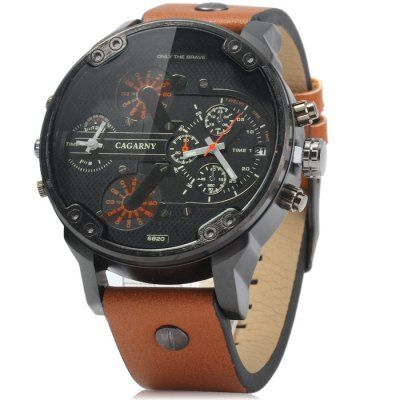 Cagarny 6820 Male Quartz Watch-9.26 and Free Shipping  GearBest.com