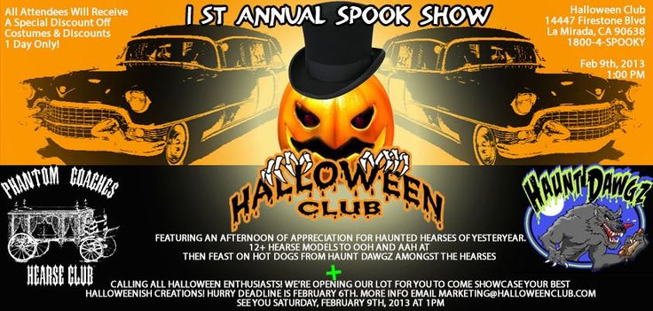 Spook Show poster archives - Halloween Club – Halloween Costume Superstore – open year-round