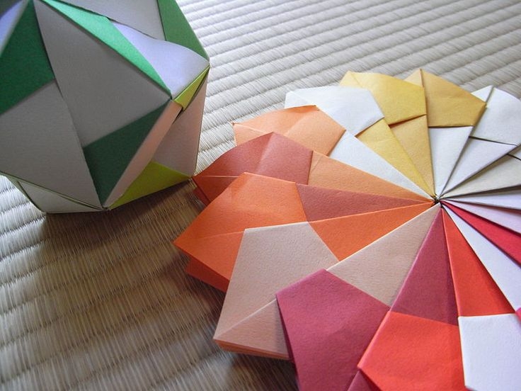 How to make Origami Balls - Step-by-step Guide | Origami ... - photo#4