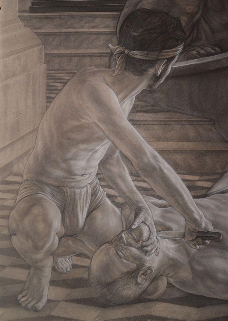 "detail of ""Oedipus"""
